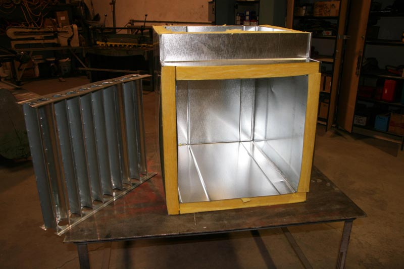 Sheet Metal Fabrication | Select ACR Commercial Heating and
